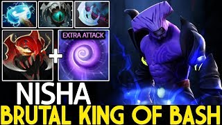 Nisha [Faceless Void] Brutal King of Bash Insane Plays 7.21 Dota 2