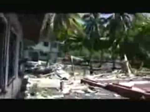 Raw Footage Smoan Islands Tsunami Sep 29 - Total Devastation  villages washes away