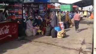 Karachi Cantt. Railway Station - Rush On Eid Days