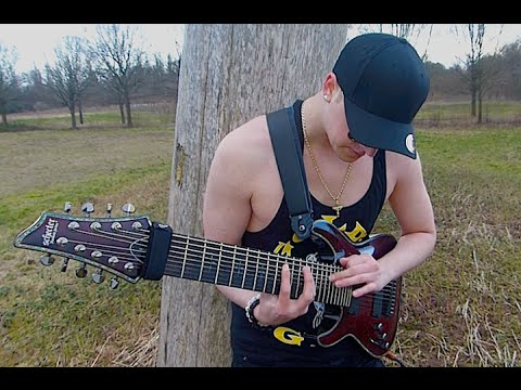 Schecter Hellraiser C-9 Andy Billy Goat - Heaven Is My Hell (official Music Video Hd) video