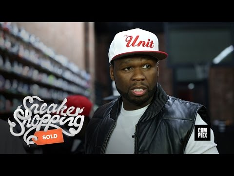 50 Cent and G-Unit Go Sneaker Shopping With Complex