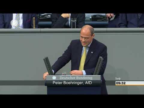 Peter Boehringer AFD,  zum Thema Finanzen und Haushalt vom 22.03.2018