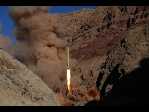 Iran test-fires 2 missiles marked with 'Israel must be wiped out'