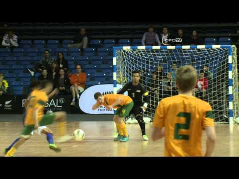 OFC FUTSAL 2013 / FINAL HIGHLIGHTS / MALAYSIA vs AUSTRALIA 27.07.2013