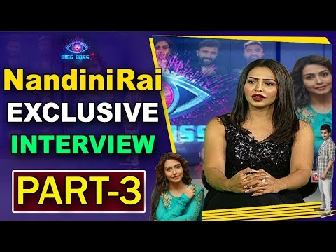 Bigg Boss Contestant Nandini Rai Exclusive Interview After Elimination | Part 3