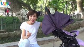 Xe đẩy an toàn cho Bé - Cozy dòng xe thương hiệu ComBi (tokyobaby.vn)