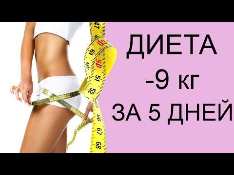 Худеем самые быстрые диеты