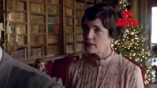 Exclusive: First look at George Clooney in Downton Abbey for Text Santa