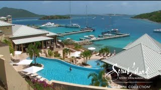 Scrub Island Resort/Marina in the British Virgin Islands, Caribbean