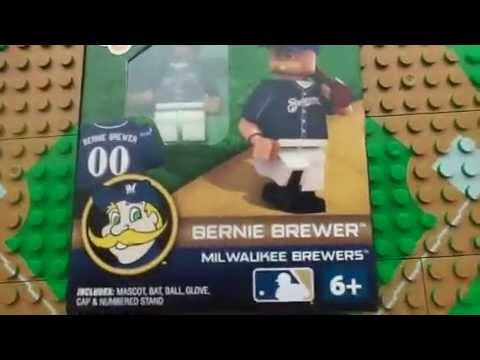 Milwaukee Brewers OYO Bernie Brewer G1 Unboxing and Review