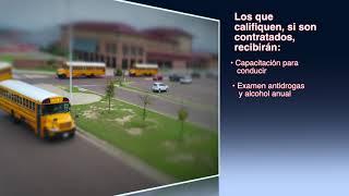 UISD Hiring Bus Drivers PSA  Spanish