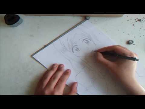 Drawing Orihime Inoue - Bleach