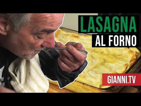 Lasagna al Forno with Fresh Pasta