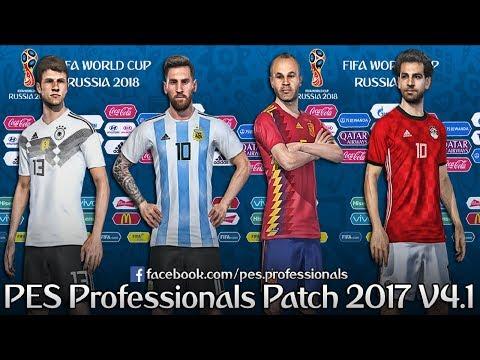 PROFESSIONALS PATCH V4.1 PES 2017 PC TORRENT