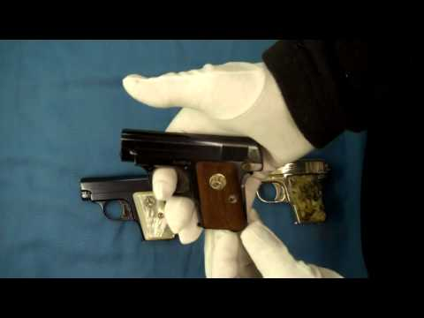 Colt 1908 .25 acp Pistol Pocket Hammerless Model N variations
