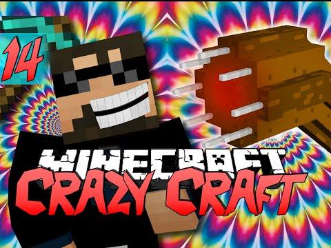 Minecraft CRAZY CRAFT 2.0 | Worms are Jerks! [14]