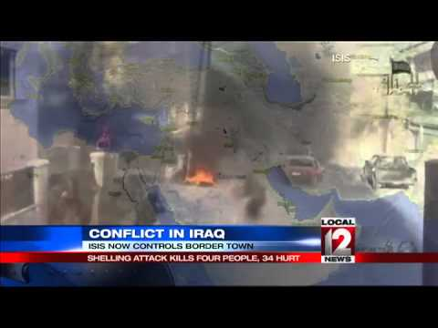 Iraqi militants seize 2 more border crossings