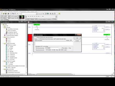 """EP1 """"RSLogix 500"""" Part9 : Compteur Decompteur -Counters- """" CTU-CTD """" بالدا�"""