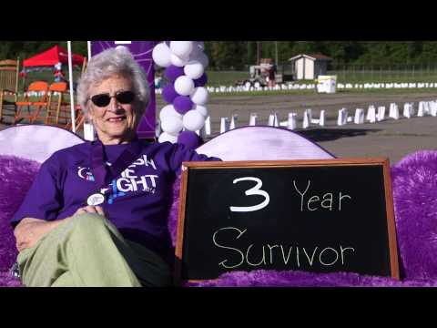 The Purple Couch... Russellville, AR Relay for Life 2014