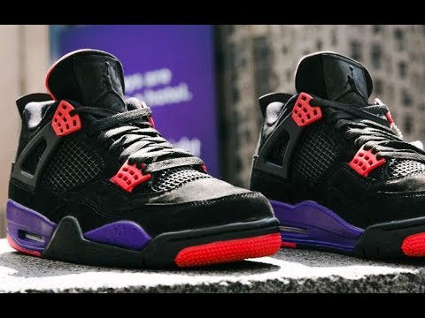 Air Jordan Raptor 4 Retro Sneaker HONEST Review With Dj Delz