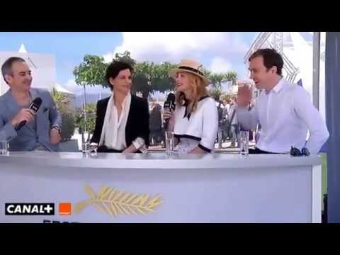 Clouds of Sils Maria Interviews Chloë Grace Moretz Juliette Binoche Kristen Stewart Cannes 2014