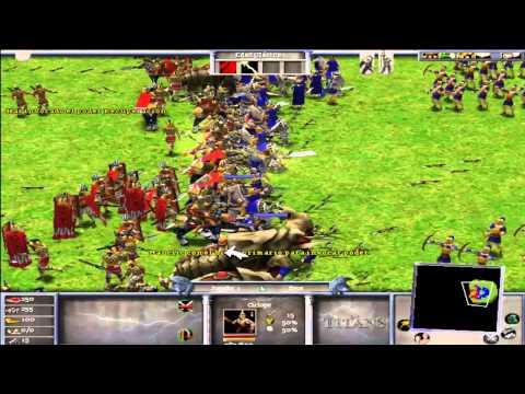 Zeus Vs Cronos En Editor Age Of Mythology The Titans