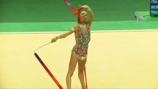 Rio de Janeiro - Test Event: Veronica Bertolini / Nastro (qualifiche)