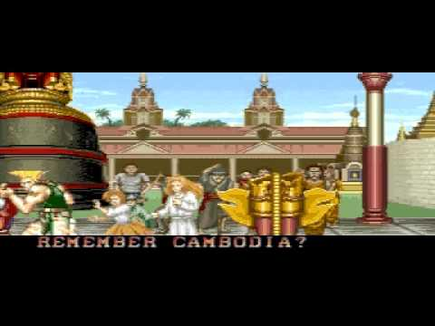 Street Fighter 2 All Endings arcade
