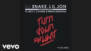 Dj Snake Lil Jon Turn Down For What Remix Audio Ft Juicy J 2 Chainz French Montana