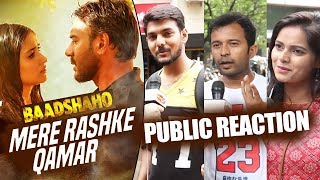 download lagu Mere Rashke Qamar Song - Public Reaction - Baadshaho gratis