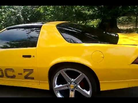 85 Iroc Z This Is The Second One On 22s Irocs Youtube