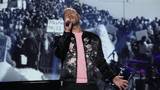 John Legend Performs His Song 39 Preach 39