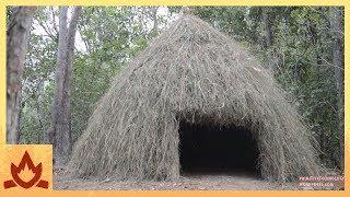 Primitive Technology: Grass hut