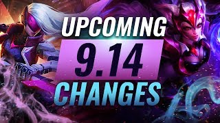 MASSIVE CHANGES: New buffs and reworks coming in Patch 9.14 - League of Legends