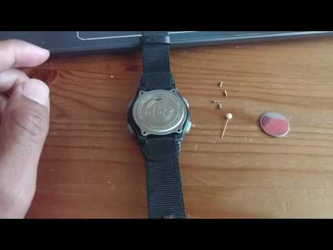 Timex Expedition T49992 Digital Watch Battery Change