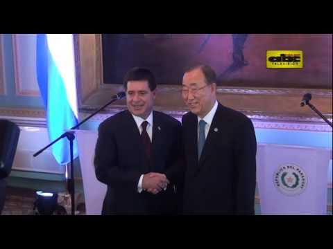 Visita de Ban Ki-moon a Paraguay