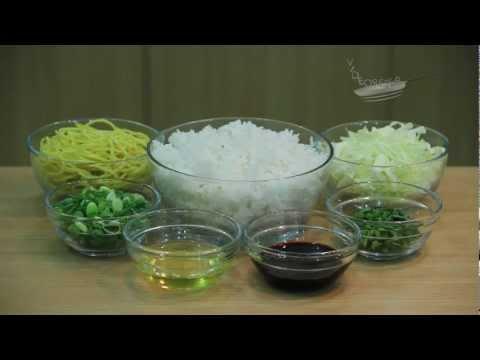 Nasi Goreng Mawut (1/4) - Bahan Utama