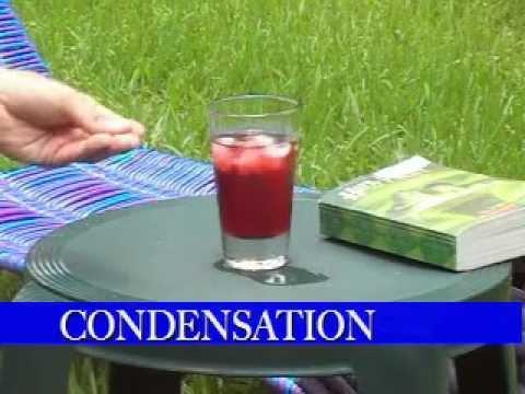 Evaporation Condensation Condensation And Evaporation