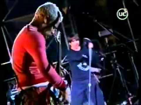 Red Hot Chili Peppers - Live Pista Atletica Estadio Nacional, Santiago, Chile