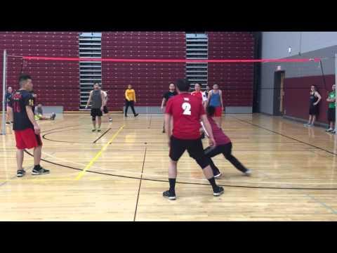 Free Agent vs KO final part 1 La Crosse Hmong volleyball