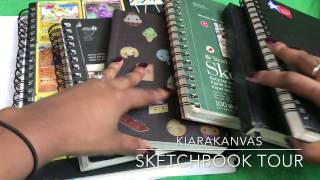 My Sketchbook Tour ((2008 - 2015)) part 1