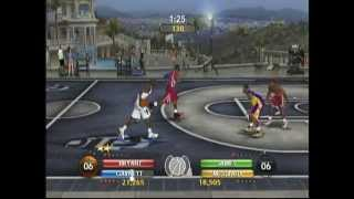 NBA Ballers Phenom (X Box) Game Play