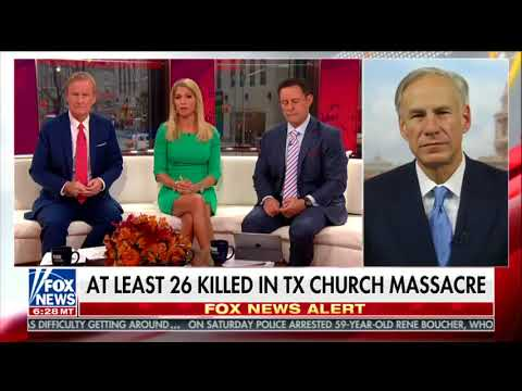 Fox & Friends says at least Texas mass shooting victims got shot in church