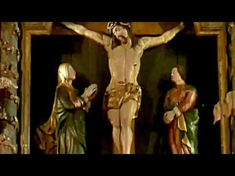 #17 Abomination (spleen wound) INRI Crucifix at Lutheran Cathedral Oslo Domkirke