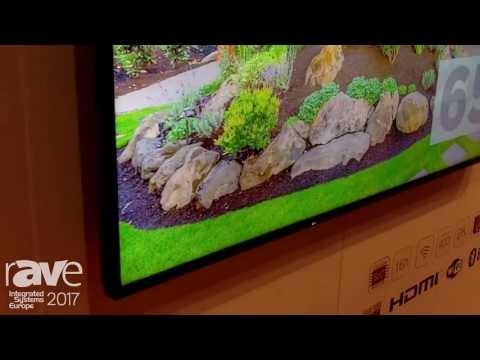 ISE 2017: Finlux Highlights STM Series Smart Signage Displays