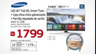TV SAMSUNG + CAJA CHINA MR GRILL - GRATIS