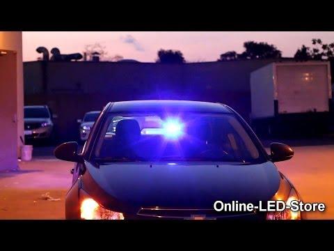 LAMPHUS® SolarBlast™ SBWL14 4W LED Windshield Dash Emergency Warning Light