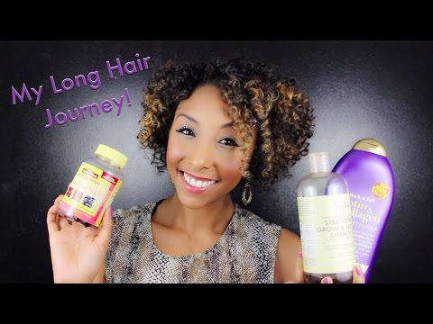 My Long Hair Journey & 40K Giveaway!