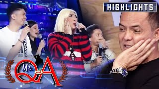 Director Bobet enters the studio because of Vice, Jhong and Vhong | It's Showtime Mr. Q and A