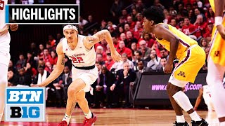 Highlights: McConnell's Double-Double Leads Rutgers to Win | Minnesota at Rutgers | Jan. 19, 2020